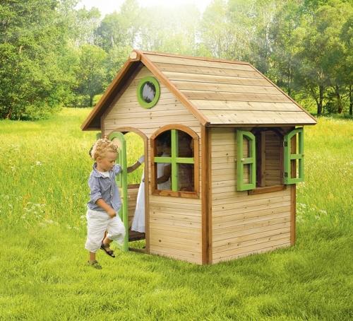 Super Axi speelhuisjes klein | Houten speelhuisjes - Outdoor Toys Krimpen MV-88