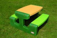 Grote picknicktafel evergreen