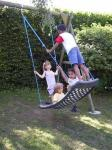 Multi child swing