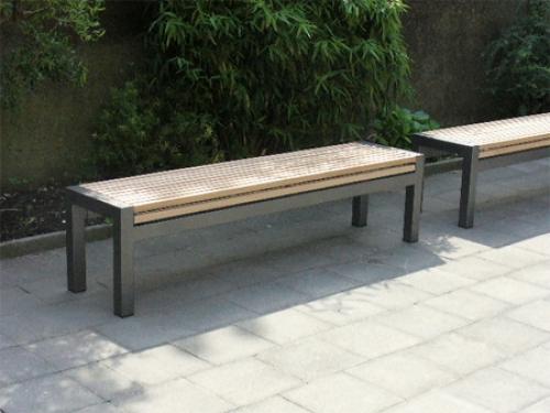Tuinbank aanbieding teak tuinbank houten bank voor tuin en terras varitrad witte rose - Bank terras hout ...